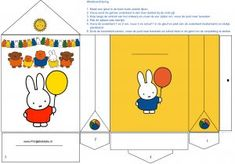 Rabbit Art, Miffy, Easter Bunny, 2nd Birthday, Party Themes, Party Ideas, First Birthdays, Diy And Crafts, Fun