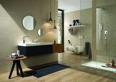 È disponibile in sei colori differenti il rivestimento da parete per il bagno in monocottura pasta bianca. Leggermente ondulata, all'aspetto...