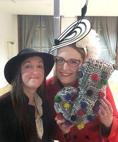 With Frances Hardinge at The Kitschies awards! http://jabberworks.livejournal.com/696372.html