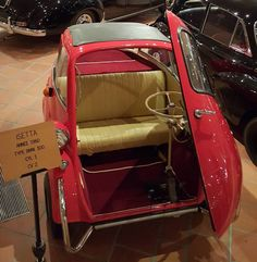 """#PortHercule This is a... BMW! To be precise, the #BMW 300 Isetta from 1960. Part of Prince Rainier's collection, or """"La collection de voitures anciennes - Palais Princier de Monaco"""". #car #cars #carporn #auto #automobile #vehicle #sports #sportscar #beautiful #beauty #road #roadtrip #travelgram #instatravel #instadaily #travel #traveling #travelling #tour #tourist #tourism #travelgram #monaco #montecarlo #prince #rainier #picoftheday #nofilter #photooftheday by art2gee from"""