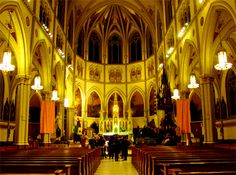 This church is one of the most haunted places in New York. There are so many factors that contribute to the haunting of this holy place, it seems impossible that it WOULDN'T be haunted. The church was built upon what was once a cemetery