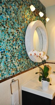 Private Residence Mediterranean Bathroom Tile Miami Marble Systems