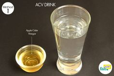 acv drink for yeast infection