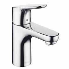 Hansgrohe 04371000 Focus E 100 Single Hole Faucet In Chrome Bathroom Faucet
