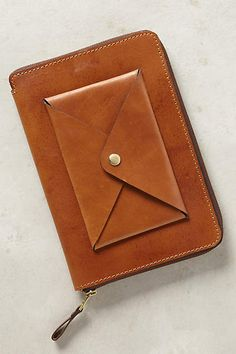 Stitched Leather iPad Case - anthropologie.com