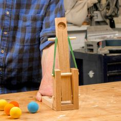 Saturday Morning Workshop: Desktop Catapult
