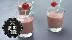 Smoothie Erdbeer-Vanille-Kaffee mit Chiasamen | Rezept | selber machen |...