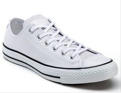 New Men's 5 or Womens 7 White Perforated AS OX Tennis Shoes by Converse +@ in Clothing, Shoes & Accessories, Unisex Clothing, Shoes & Accs, Unisex Adult Shoes | eBay
