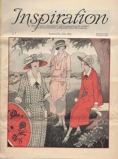1920s Inspiration Magazine Vol 6 No 7 July 1922