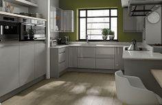 Linear Dove Grey kitchen #KitchenDesign #KitchenDesignIdeas #ModernKitchenDesign #KitchenDesignImages (Affiliate Link)
