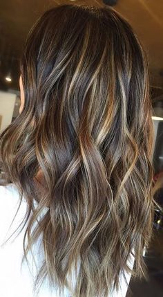 Brunettes – congrats, you've just discovered your hair color for Fall. You're welcome! Color by Courtney K. #Highlightsbrownhair