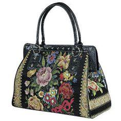 """Mary Poppins"" Carpet Bag"