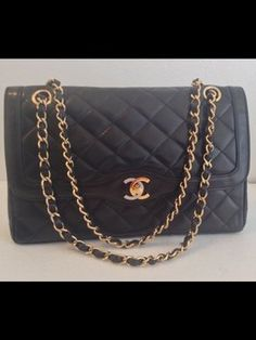 Chanel Limited Edition Vintage Lambskin Double Flap Shoulder Bag. Get one of the hottest styles of the season! The Chanel Limited Edition Vintage Lambskin Double Flap Shoulder Bag is a top 10 member favorite on Tradesy. Save on yours before they're sold out!