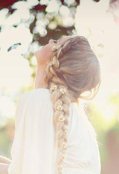 floral braid || zazumi.com