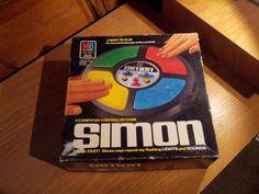 Vintage Simon Electronic Computer Game Milton by FriendsRetro, $34.00