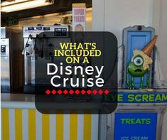 A list of everything you get for free when you take a Disney Cruise!