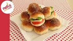 Squishy Yeasted Donut 1 cup of warm milk 1 cup of liquid liquid - Food and Drink Greek Cooking, Easy Cooking, Cooking Time, Cooking Recipes, Kids Meals, Easy Meals, Turkish Breakfast, Vegetarian Breakfast Recipes, Turkish Recipes