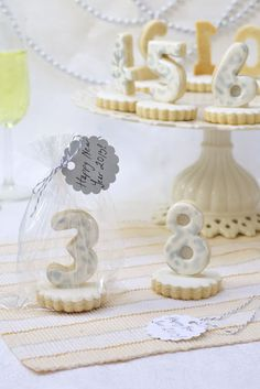 New Years Eve Countdown Cookies