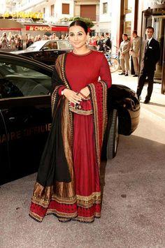 Timeless elegance on Vidya Balan