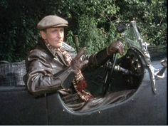 Capt. Hastings real thrill. His 1931 Lagonda. By Jove! A corker of a car!
