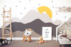 Typische Einrichtungsfehler im Kinderzimmer: Der Themen-Raum Typical furnishing errors in the nursery: the theme room Baby Room Boy, Baby Bedroom, Nursery Room, Girl Room, Kids Bedroom, Baby Rooms, Baby Room Themes, Baby Room Decor, Boys Room Wallpaper
