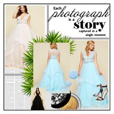 Tulle Prom Dresses by johnnymuller on Polyvore featuring Gianvito Rossi, Givenchy and Topshop