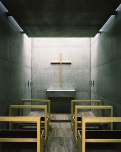 Lovenordic Design Blog: Beautiful modern chapel...