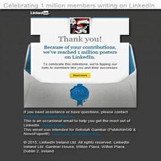 Certificated linkedIn Pulse