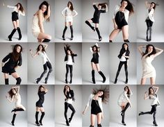 "Pose and Postures.  Everyone must learn the ""broken doll"" pose. It's a fashion favorite..."