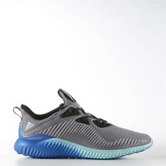 24525dbbf Adidas alphabounce Shoes (Grey   Clear Onix   Clear Aqua) Shoes Men