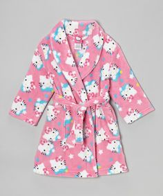 After a little one's had their fun splish-splashing in the bath, wrap them in this snuggly robe to keep silly shivers at bay. Boasting a super-soft design and waist tie to keep in the warmth, it's the perfect piece for transitioning from suds to sleep.