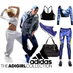 Show Off Your adGIRL Style: Contest Entry by coppin-s on Polyvore featuring adidas, Nica and adigirl