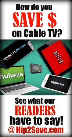 How Do YOU Save on Cable TV?! If you're looking to cut down on household spending, then cutting your cable or finding alternative viewing channels may be your best bet.