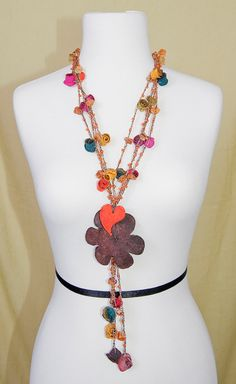 Amanecer by PamorDesigns on Etsy, Flower made out of orange peels...love it $45.00