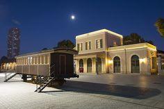 "The Old Jaffa Railway Station (""HaTachana""), 2 Yehezkel Kaufmann street, Tel Aviv Jaffa Israel, Old Jaffa, Tel Aviv Israel, Mount Of Olives, Old Train Station, Sea Of Galilee, Western Wall, Israel Travel, Holy Land"