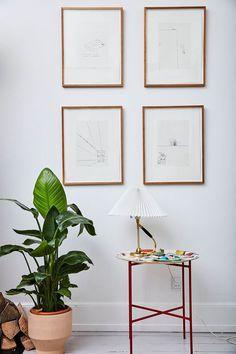 Kom indenfor hos det kreative ægtepar bag det succesfulde modebrand Ganni, Ditte og Nicolaj Reffstrup.