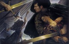 """Donato Giancola -""""The Lord of the Rings"""""""
