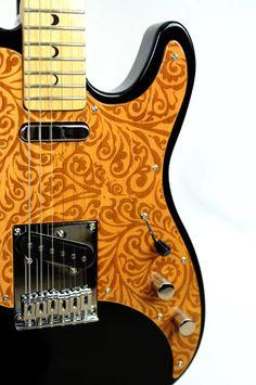 Luna Guitars Henna Paisley T Electric Guitar Review
