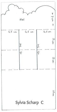 Super leuk idee voorbeeld op het bord vouw- bloc- en trapjes kaarten