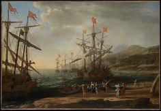 The Trojan Women Setting Fire to Their Fleet