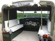 land rover defender wedding car - Google Search