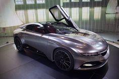 Futuristic Saab Concept Car