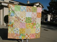 Dream On fabric; layer cake quilt