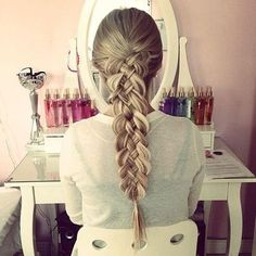 Carol Ri  Vodpod: Five Strand Dutch Braid #Lockerz