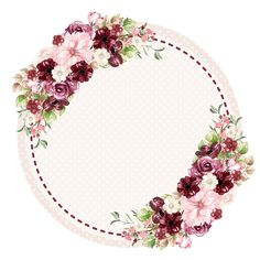 "Idea: use the ""language of flowers"" as symbolism for if pics Frame Floral, Flower Frame, Hight Light, Borders And Frames, Frame Wreath, Paper Frames, Instagram Highlight Icons, Floral Border, Flower Backgrounds"