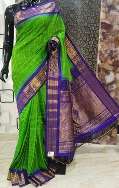Gadwal Sarees Silk, Jamdani Saree, Saree Look, Silk Sarees Online, Traditional Sarees, Saree Dress, Cotton Saree, Blouse Designs, Casual Wear