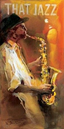 Jazz 4 Poster Print by Willem Haenraets Famous Artists, Music Artists, Musik Illustration, Jazz Poster, Print Poster, Art Print, Jazz Art, Arte Jazz, Music Artwork