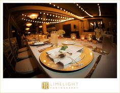 Wedding Day, Reception, Table Setting, Gold, Fish Eye Lens, Countryside Country Club, Limelight Photography, www.stepintothelimelight.com