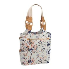 JulieApple Tall Tale Tote tote bag in Masterpiece. Our version of the catch-all carry-all tote. $88