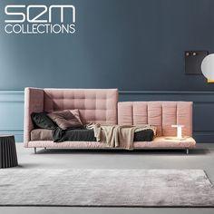 Sakin ve huzur verici bir dinlenmeyi, Bonaldo mobilyalarında yaşayın. Eşsiz ve ayrılmak istemeyeceğiniz bir tasarım…